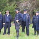 Gen Cutler, Gen Grant, Gen Merritt, Gen Crook, Gen Sheridan