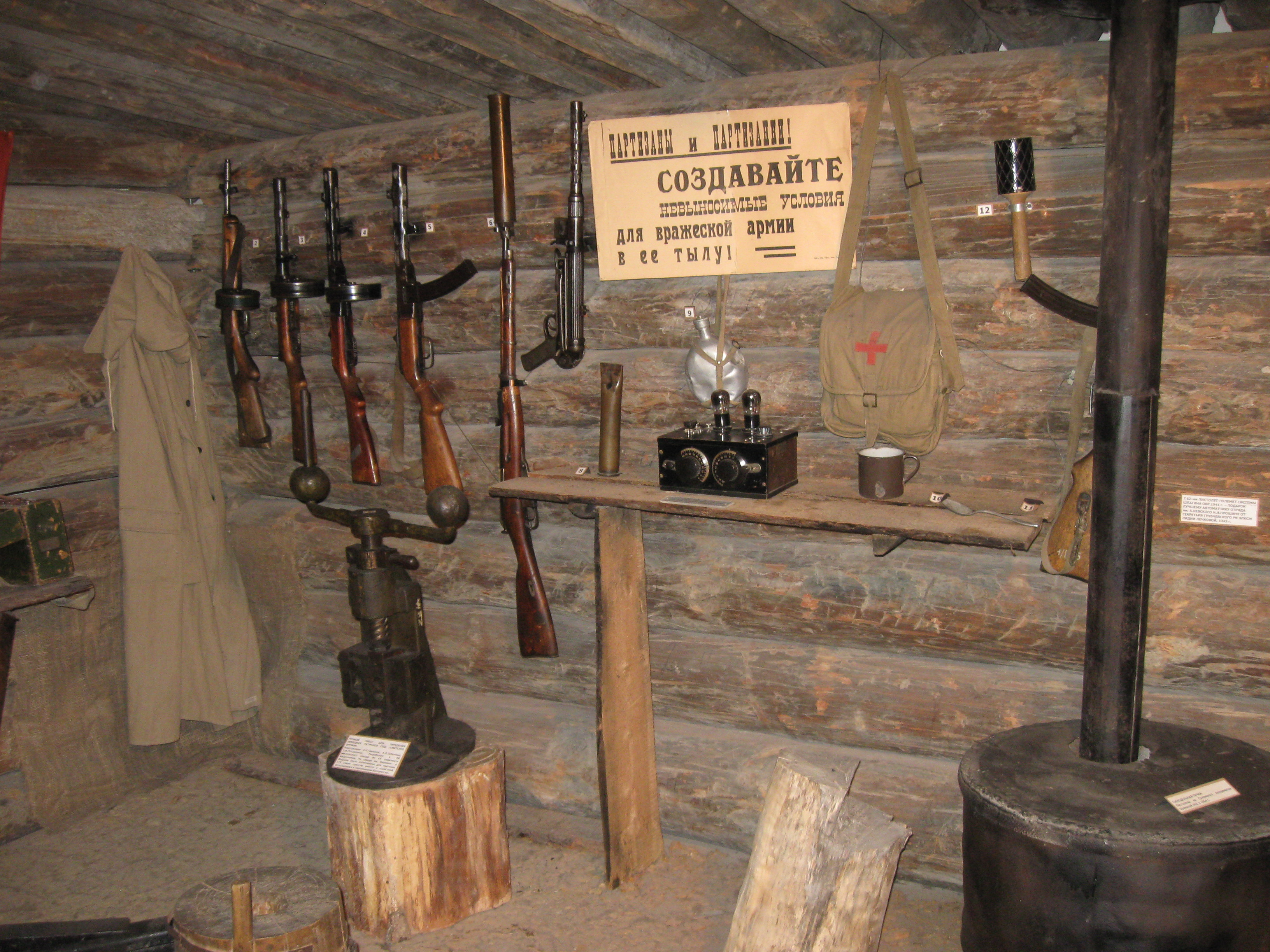 The Reenactor Post Inside Recreated Bunker The Reenactor