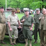 WWII Living History - Brownsville Steam and Gas Assn.