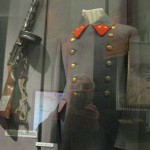 Officer's coat and PPsh-41