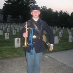 Eric, our bugler